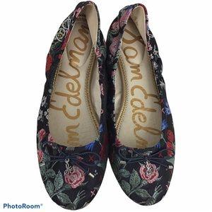 Sam Edelman Felicia Floral Ballet Flats